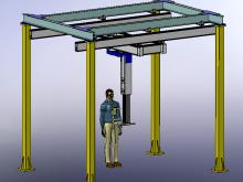 按照客户需要定制垂直升降机