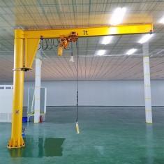 1t定柱式电动360度旋转悬臂吊