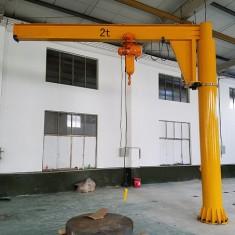 2t电动360度定柱式悬臂起重机